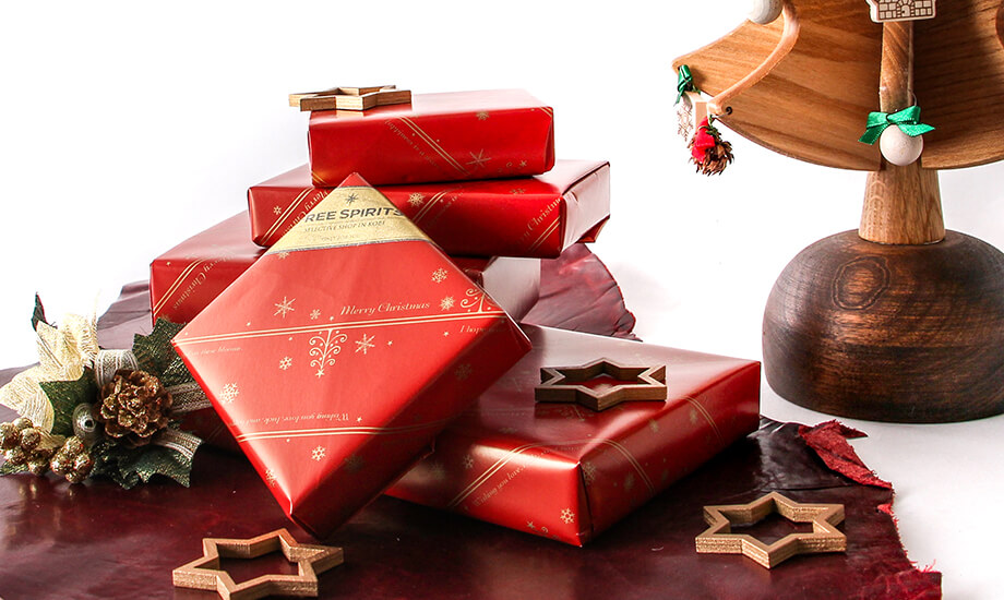 クリスマスラッピング