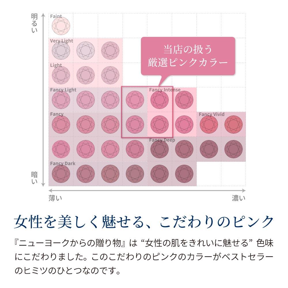 一粒ピンク ピアス ホワイトゴールド ピンクゴールド レディース 金属アレルギー