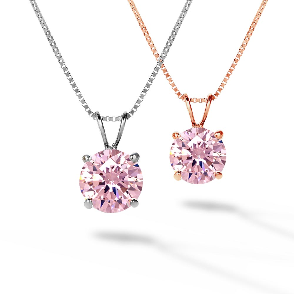 一粒ピンク ネックレス ニューヨーク限定 デザイナーズ 日本未発売