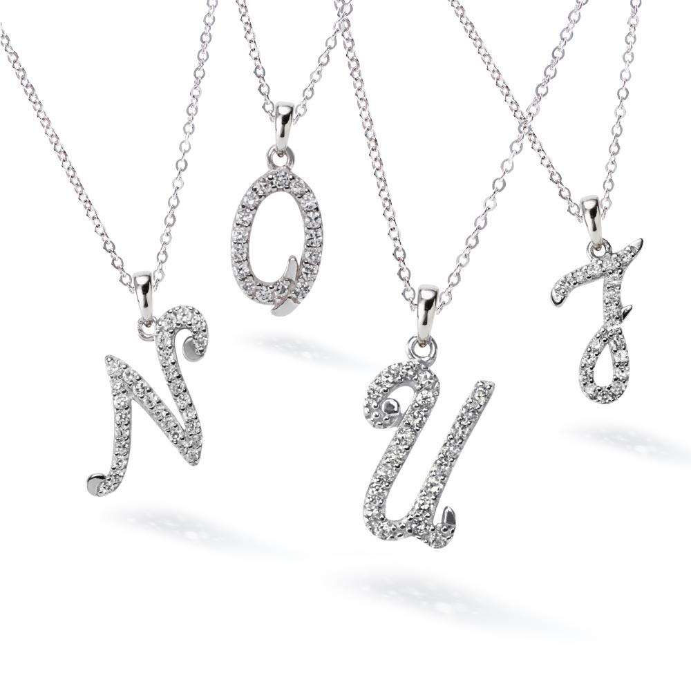 イニシャル ネックレス 選べる26種類  ニューヨーク限定デザイナーズニューヨーク限定 日本未発売 ジュエリー