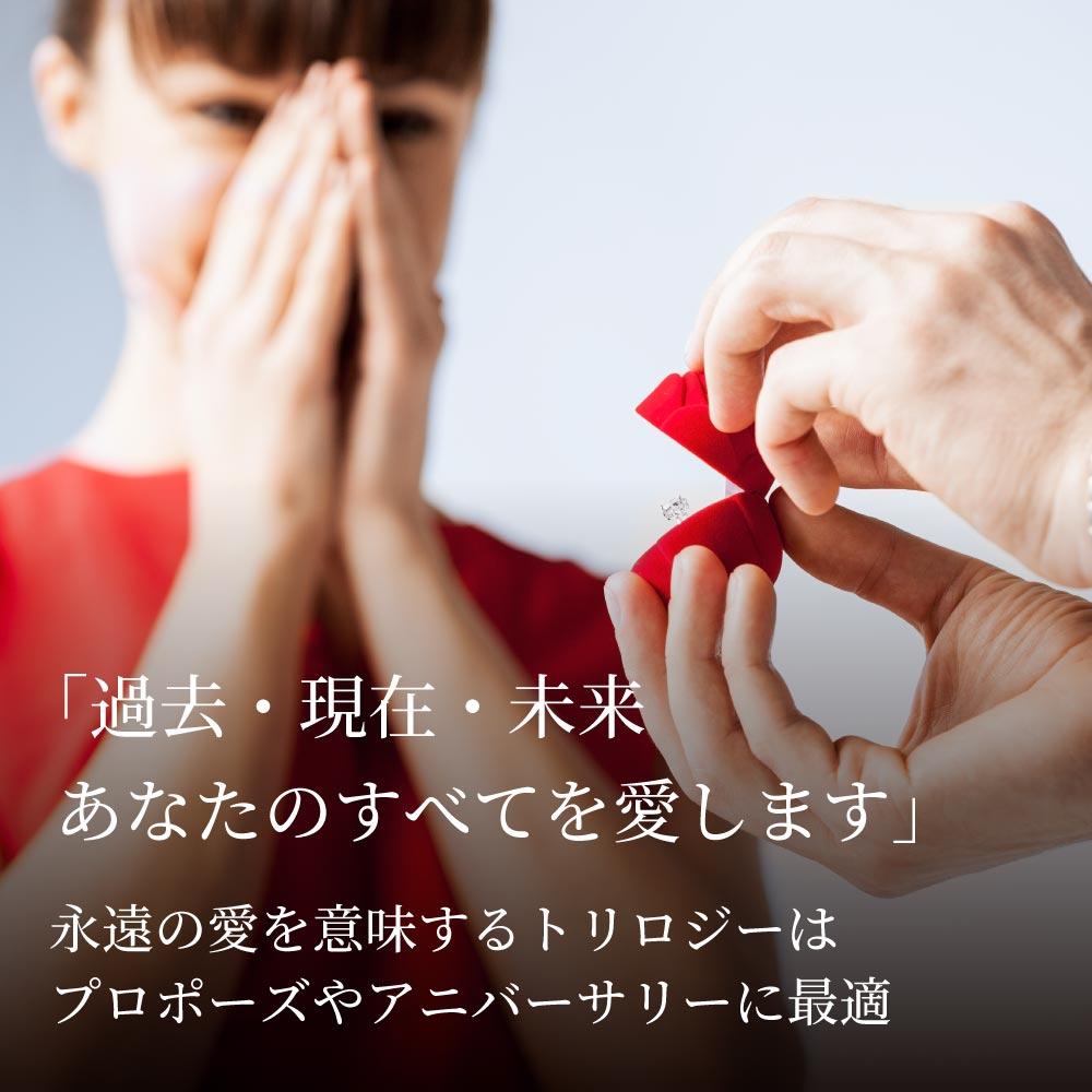 トリロジー リング プラチナコーティング 加工 レディース 金属アレルギー ニューヨーク限定 日本未発売 ジュエリー