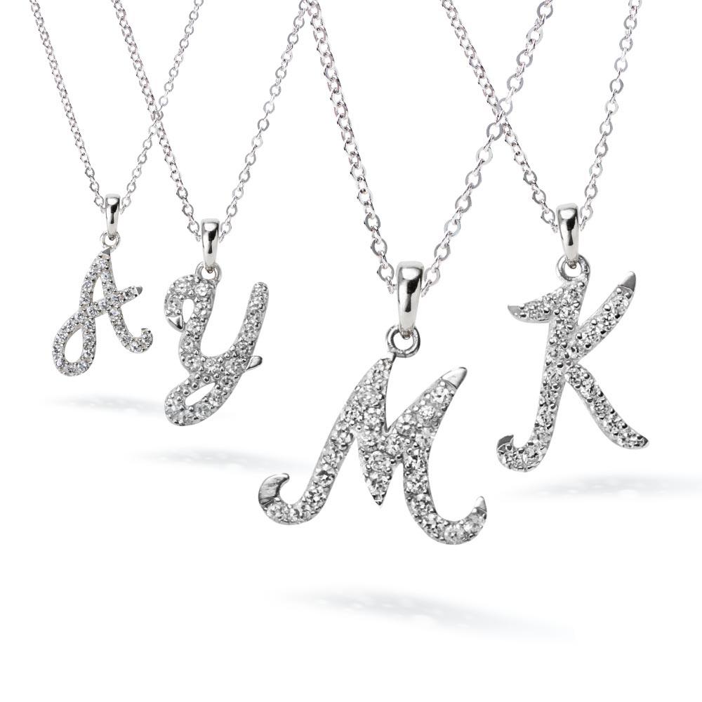 イニシャル ネックレス 選べる26種類  ニューヨーク限定デザイナーズニューヨーク限定 日本未発売