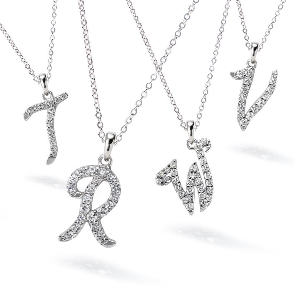 イニシャル ネックレス お得な2個セット ニューヨーク限定デザイナーズニューヨーク限定 日本未発売 ジュエリー