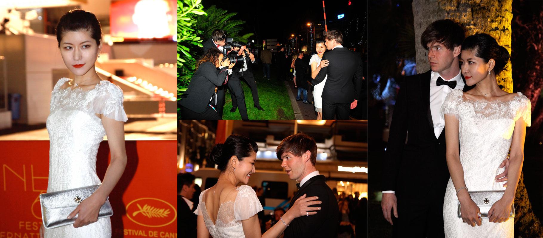カンヌ映画祭 ハリウッド女優と「ニュヨークからの贈り物」 New York Exceptional Cut のジュエリー