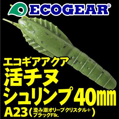 エコギアアクア 活チヌシュリンプ 40mm