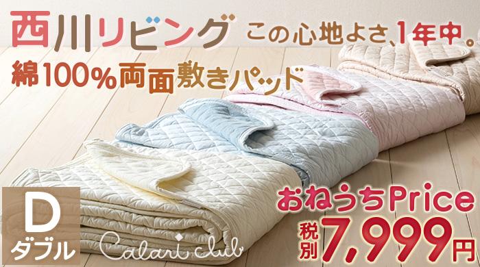 敷きパッド 冬用 ダブル (布団カバー セット D/敷きパッド 夏用 D)7011