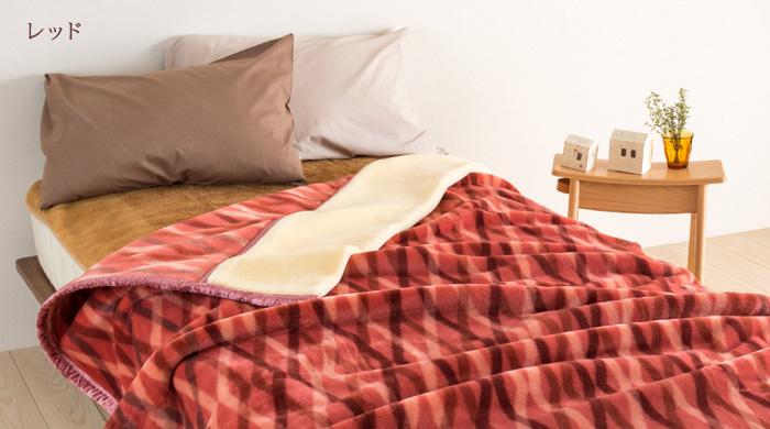 毛布 アクリル毛布-軽量毛布 シングル 47080