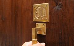 真鍮製アンティーク調ドアサイン