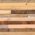 厚み10mmの無垢古材薄板材種・風合いのミックス感が魅力