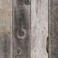 グレーの幅広無垢古材板、厚み20mm