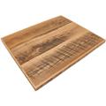 バーボン熟成庫の古材を使用した天板(オイル仕上)