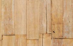 厚み30mm前後のチーク古材一枚板。元はジャワ島のデッキ材。