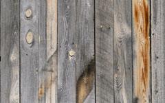 農場の木柵、ランチフェンス