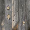 グレーの古材板、長さ1200mmで厚み20mm程度