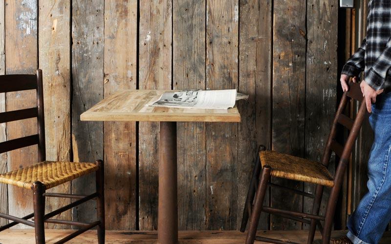 チーク古材のテーブル天板