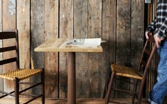 チーク古材のテーブル天板、リクレイムドチークテーブルトップ750×600