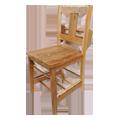 チーク古材の教会用椅子