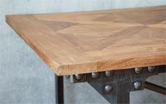 パーケット(寄木)天板 テーブル