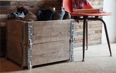 積み上げ・折り畳みボックス用蝶番 スタッキングヒンジ