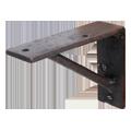 手作りの鉄製棚受け、100×75