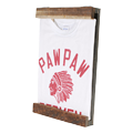 Tシャツを飾るための木製フレーム