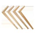 無垢木製のテーブル脚4本セット