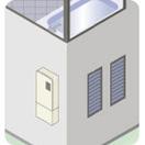 直圧式屋外壁掛型