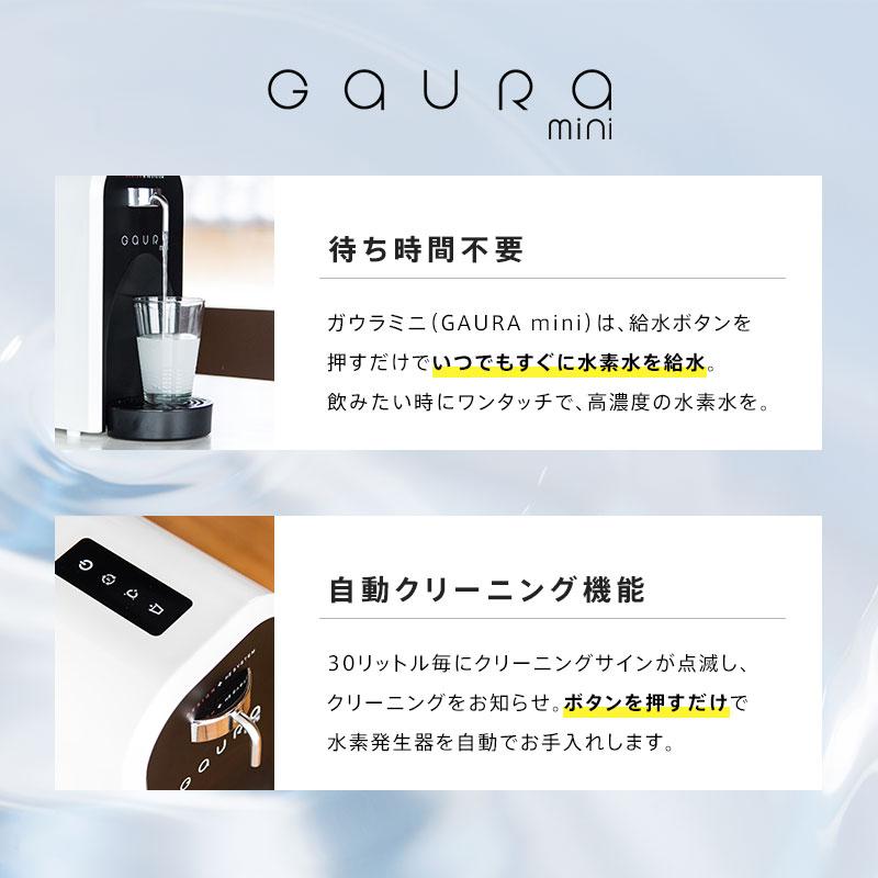 整備中古品 高濃度水素水生成器 GAURA mini(ガウラミニ)標準カラー