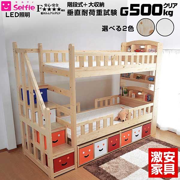 二段ベッド セルフィ