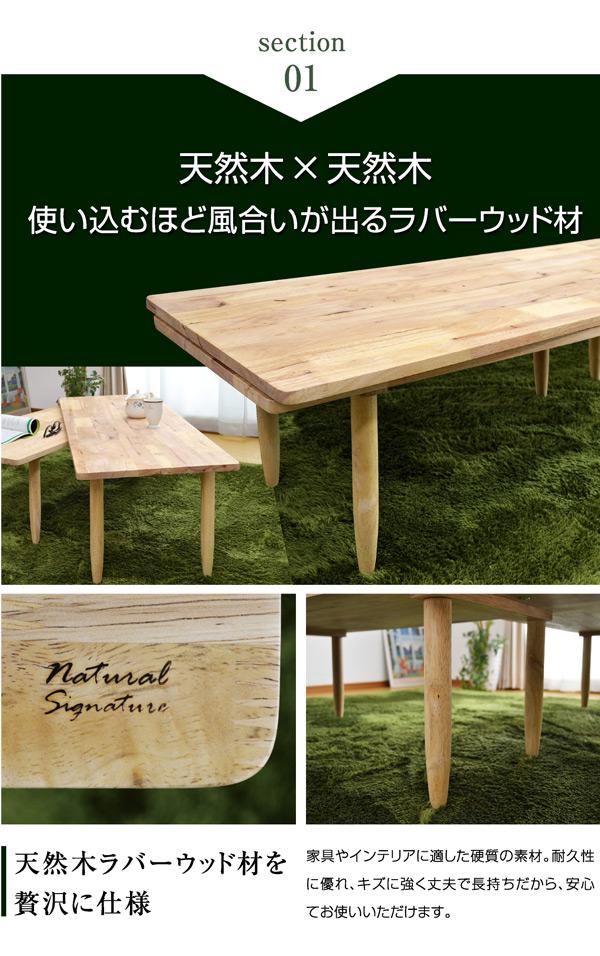 ネストテーブル ローテーブル センターテーブル ツイン(Twin) -GKA