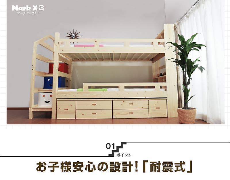 2段ベッド マーク