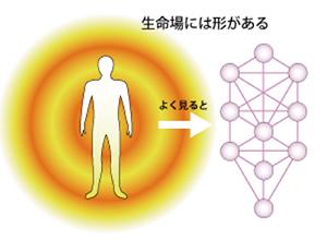 3Dカバラ パドマ・ペンダント(ヒモタイプ)