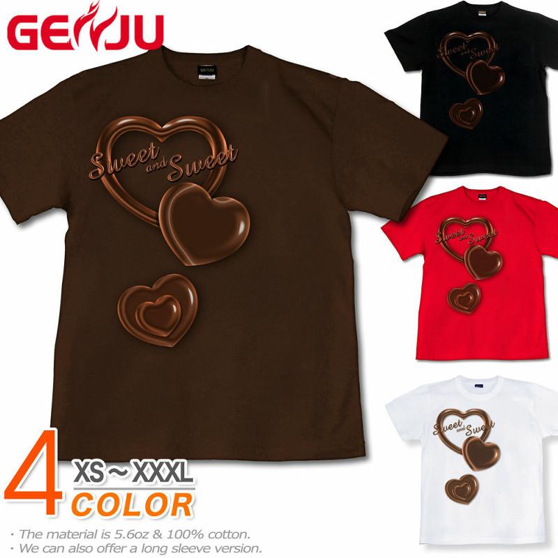 バレンタイン チョコレート Tシャツ
