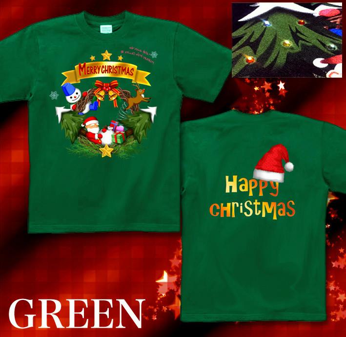 クリスマス スポーツジム Tシャツ