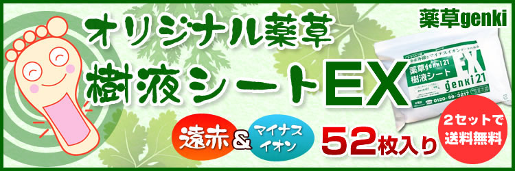 オリジナル薬草樹液シートEX