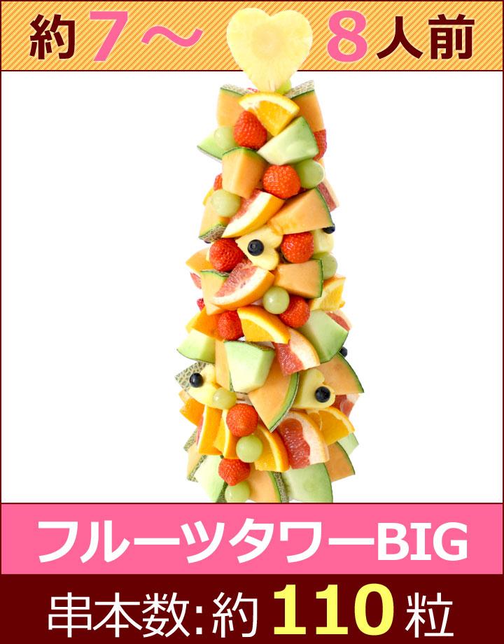 ハッピーカラフルーツ フルーツタワーBIG