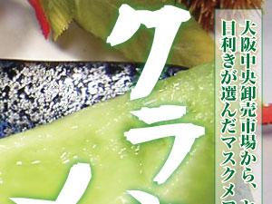 静岡県特産のクラウンメロン