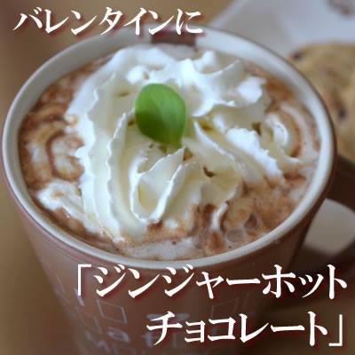 ジンジャーホットチョコレートレシピ
