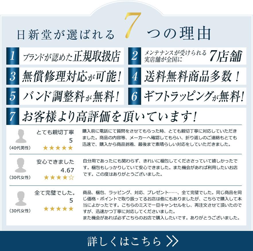 日新堂が選ばれる7つの理由
