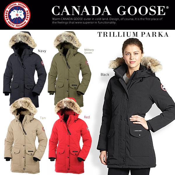 CANADA GOOSE《 TRILLIUM PARKA 》
