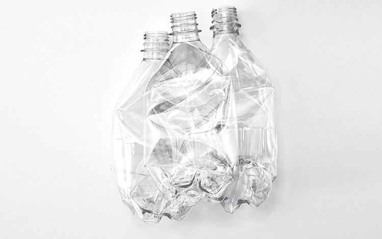 ポリエステル製造用再生プラスチックボトル