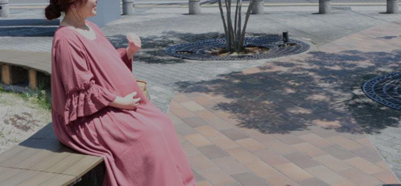 マタニティ・妊婦さんのワンピース