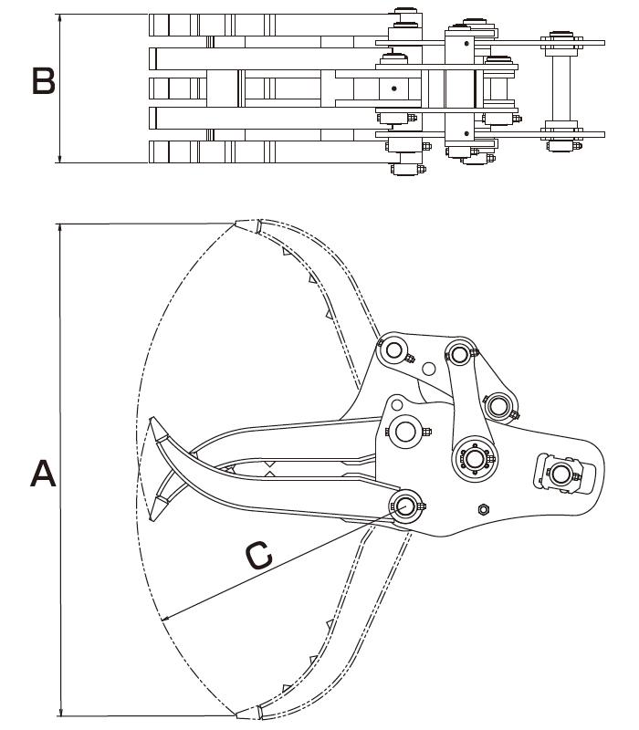タグチ工業製グラスパーV3仕様図