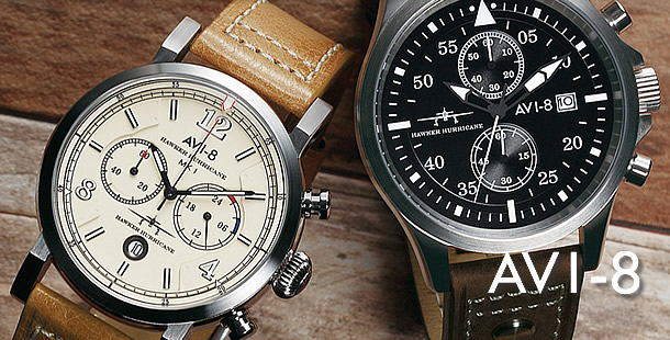 AVI-8(アヴィエイト) 腕時計