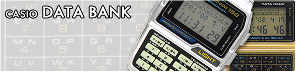 CASIO DATA BANK (カシオ データバンク) 腕時計