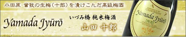 いづみ橋純米梅酒山田十郎(小田原の生梅をつけ込んだ高級梅酒)