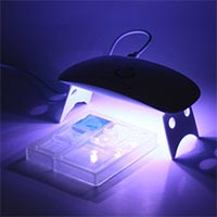 UVライト・道具・本・レシピ