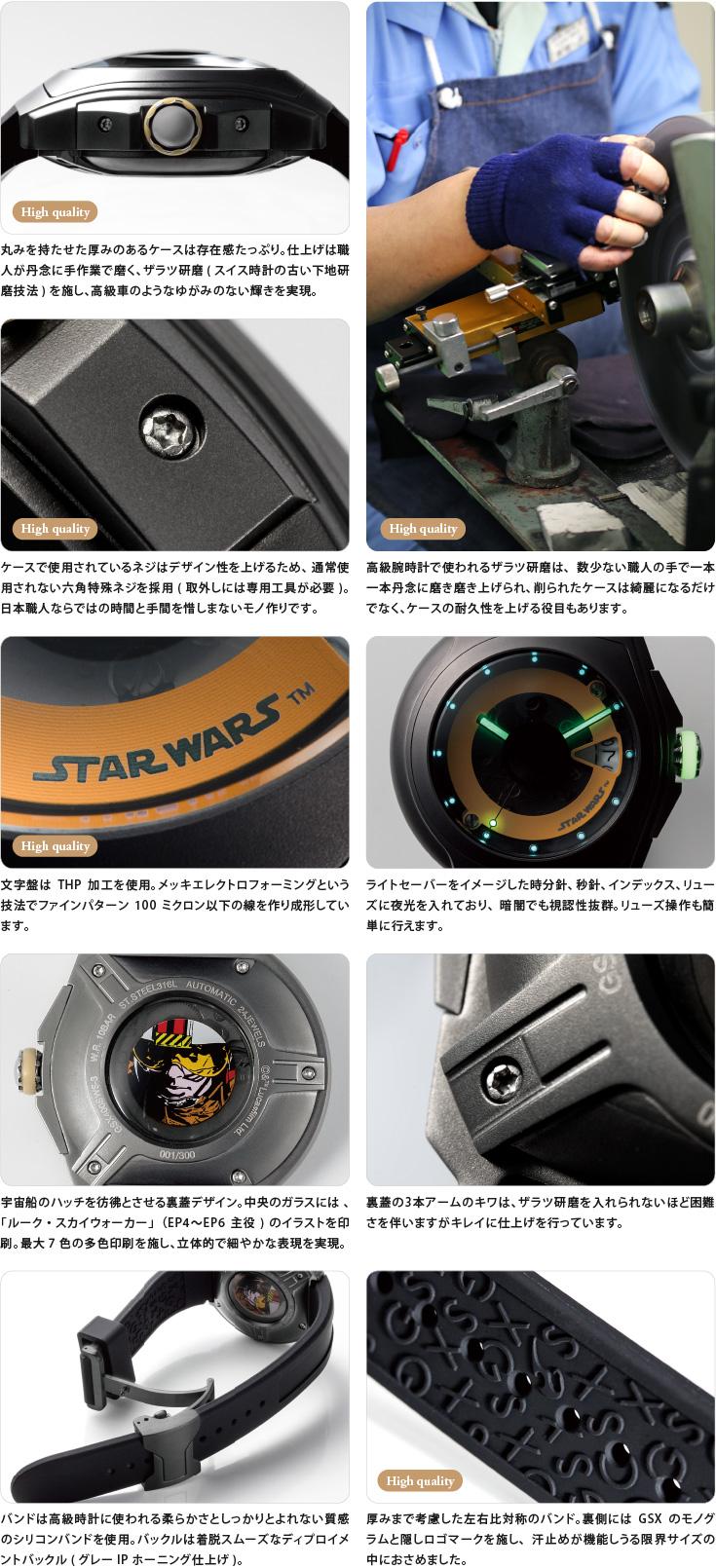 GSXスターウォーズ腕時計イメージ