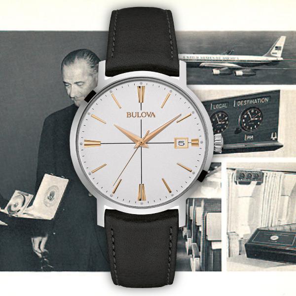 ブローバ [BULOVA] 98B254 メンズクラシック [MEN'S CLASSIC] エアロジェット [AEROJET] メンズ 腕時計 時計