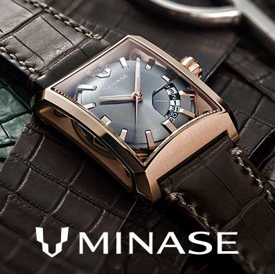 *スイス時計に匹敵する日本でマニュファクチュールを目指す時計ブランド「MINASE」